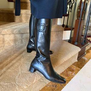 Salvatore Ferragamo women's boots sz 9.5 B